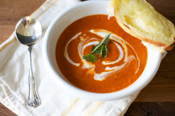 Roasted Red Pepper Soup | FOOD Glorious FOOD! | Pinterest