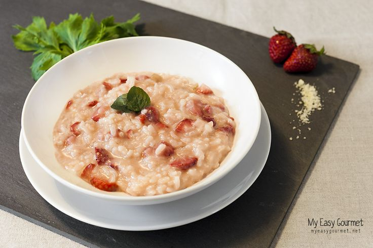 Strawberry risotto | The Hideaway Cafe | Pinterest