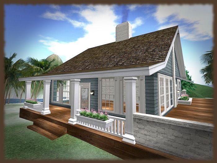 Dream prefab beach cottage 25 photo kelsey bass ranch for Modular beach cottages