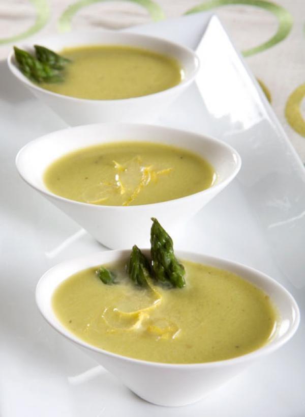Asparagus Soup Recipe | YUMMY | Pinterest