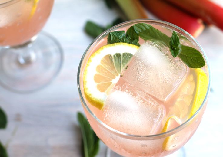 rhubarb, rhubarb cocktail | I eat and I drink and sometimes I cook ...
