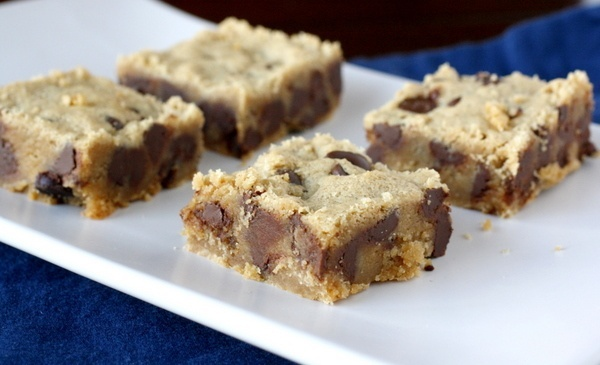 Chewy Peanut Butter Brownies | sweets | Pinterest