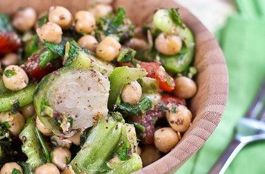 Veggie Overload Chickpea Salad | yum | Pinterest