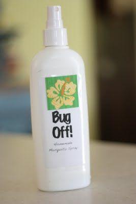 homemade bug spray..