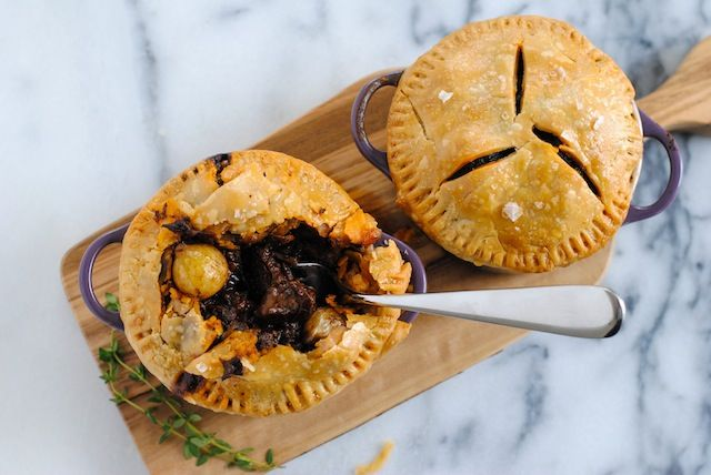 Short Rib Pot Pie - Luscious short ribs glazed with red wine and ...