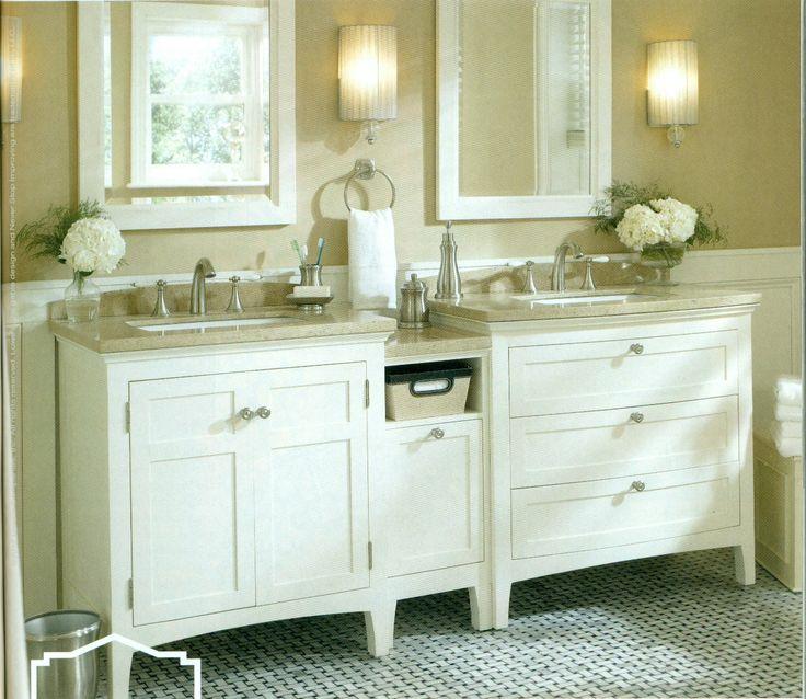 vanity ideas bathroom remodel pinterest