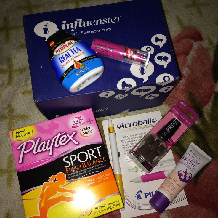 Received Influenster #Univoxbox ! Perfect for a college girl~