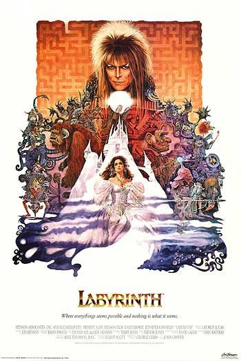 "Labyrinth ..................................  ""I say, does anyone want a game of Scrabble?"""