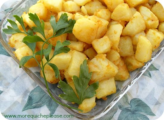 Mustard-roasted Potatoes | Potato Ideas | Pinterest