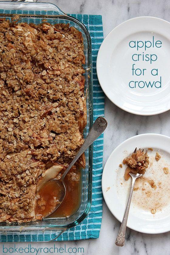 Classic Apple Crisp For Thanksgiving Recipes — Dishmaps