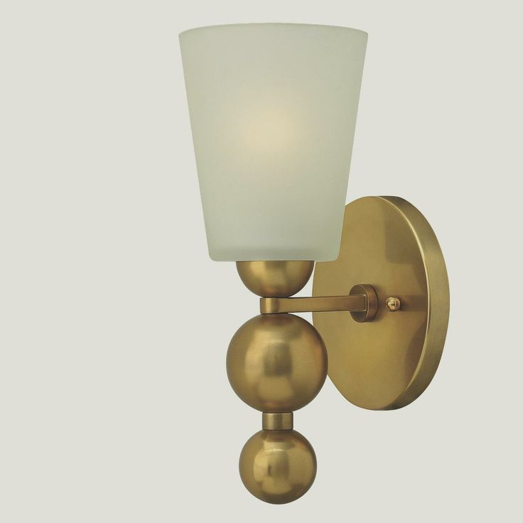 Wall Sconces Mid Century Modern : Modern Mid-Century Glass Wall Sconce mid century lighting Pintere?