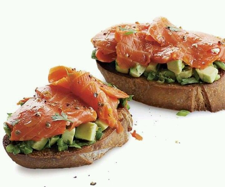 smoked salmon and avocado | Food & Drink that I love | Pinterest