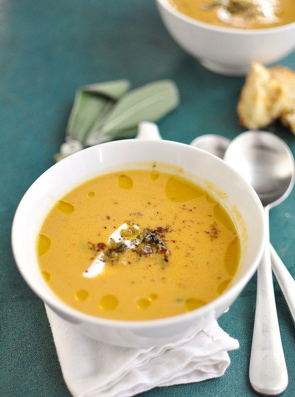 Squash, Sage & Apple Soup. | Soup & Stew | Pinterest