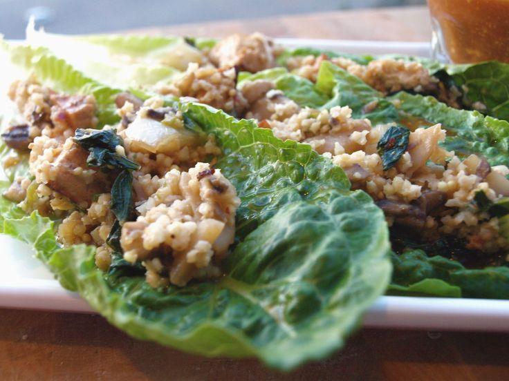 Vegetarian Lettuce Wraps | Vegan/Vegetarian Meals | Pinterest