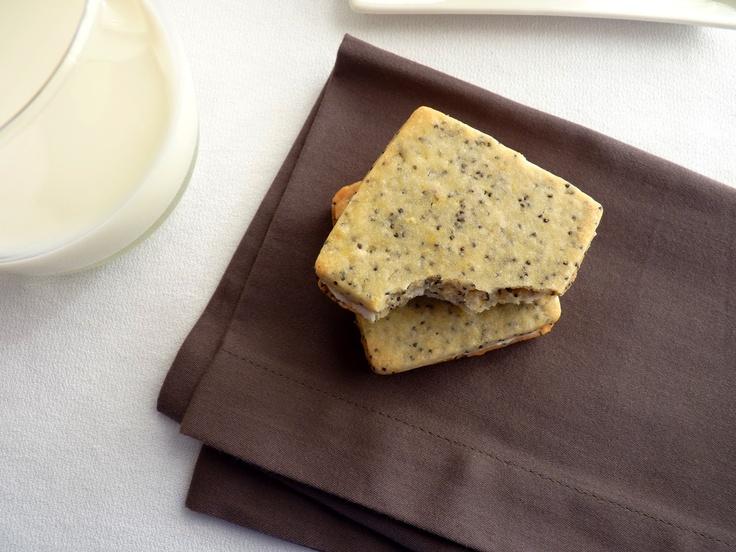 Poppy Seed Sandwich Cookies | Cookies | Pinterest