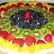 Fruit Pizza II | YUM desserts | Pinterest