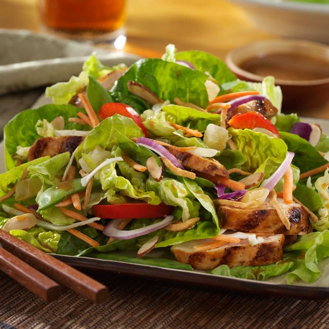 Asian Island Grilled Chicken Salad | I Love To Cook! | Pinterest