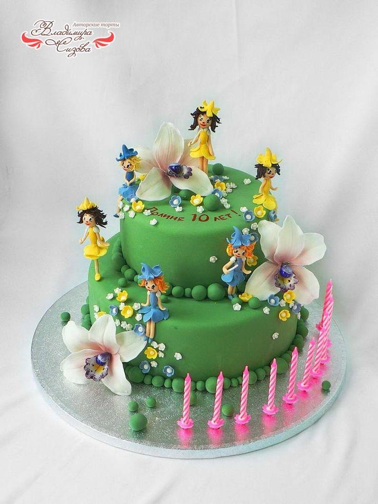 Торты день рождения ребенка рецепты