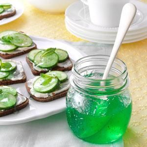 mint jelly recipe | Lime Mint Jelly Recipe photo by Taste of Home