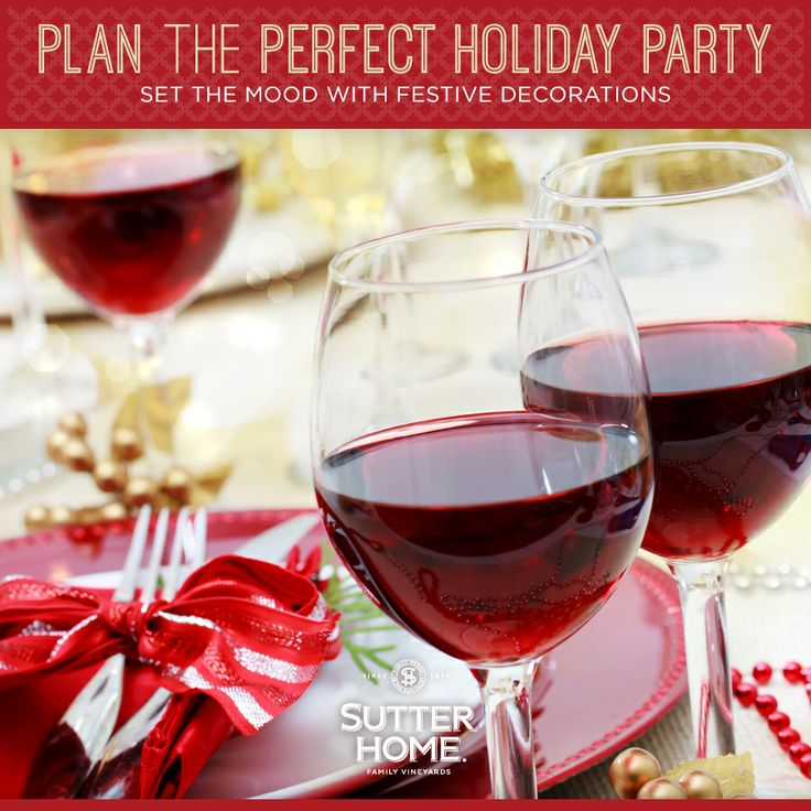 Decoration tips for the perfect holiday party.