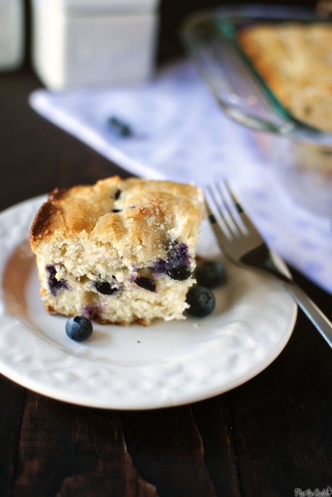 Blueberry Buttermilk Breakfast Cake | Baking! (dessert, pastry, bread ...