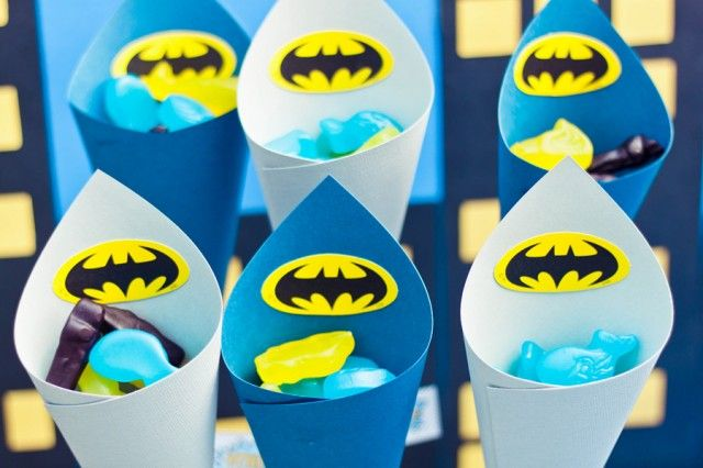 Fiesta infantil superheroes batman