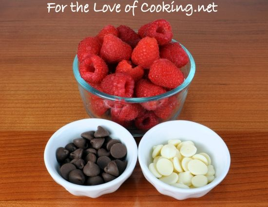 For the Love of Cooking » Chocolate Stuffed Raspberries