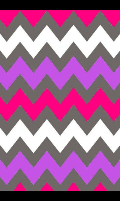 Hot pink , gray ,and light purple chevron background