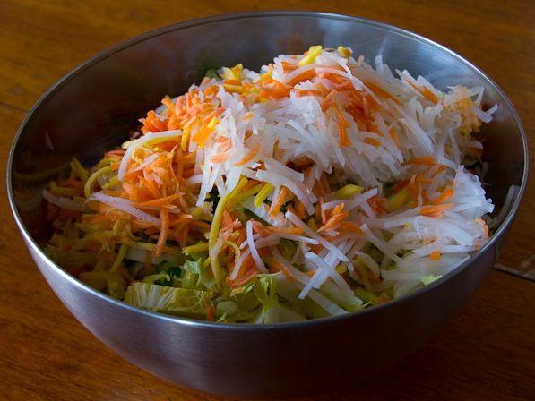 Kimchi - omit chili flakes | Paleo AIP Veggies and Sides | Pinterest