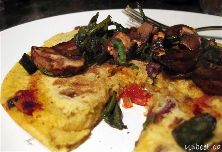 Socca - Chickpea Flatbread   Food   Pinterest
