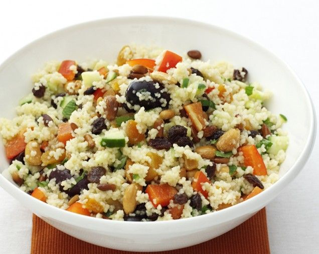 Couscous with Pine Nuts and Almonds | Recipe
