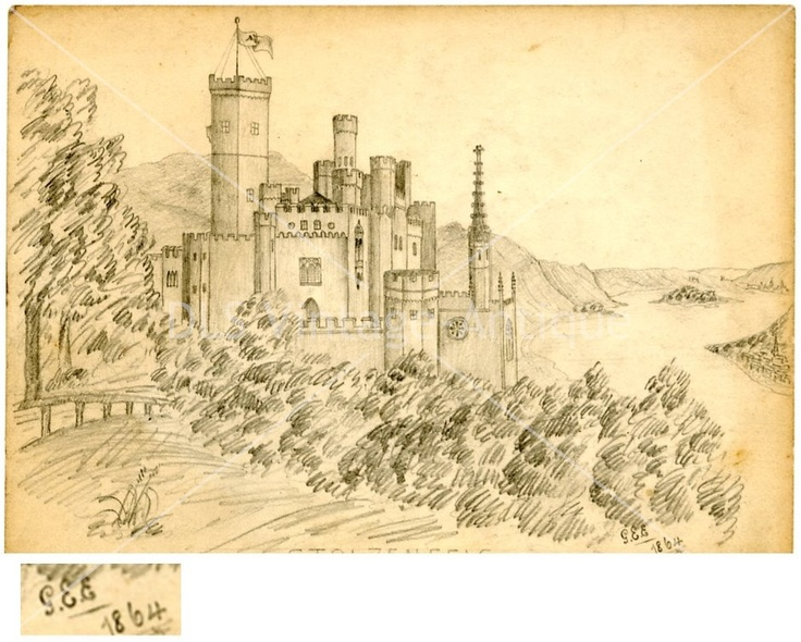 Sketched by G.E.E (George Edward Earnshaw) in 1864.  Subject: MAKE $ OFFER DreamLandSpecialties@comcast.net