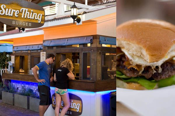 New in Lahaina: Sure Thing Burger run by Josiah Citrin of LAʻs 2 Michelin star rest. Melisse. Article by  Martha Cheng March 30 at Biting Commentary.