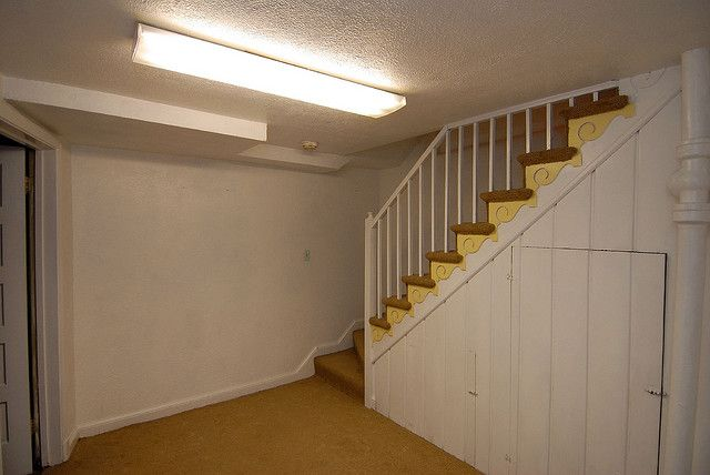 Basement stairs basement garage remodel ideas pinterest - Basement stair ideas pinterest ...