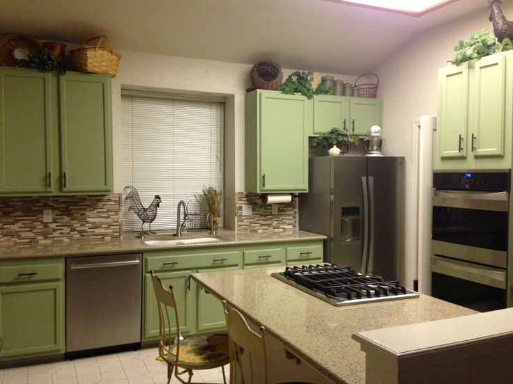 Oak cabinets kitchen makeover kitchen pinterest for Kitchen cabinets makeover