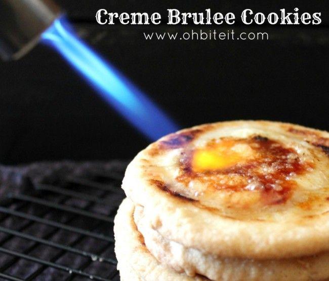 Creme Brulee Cookies! Creme brûlée is one of my favorite desserts ...