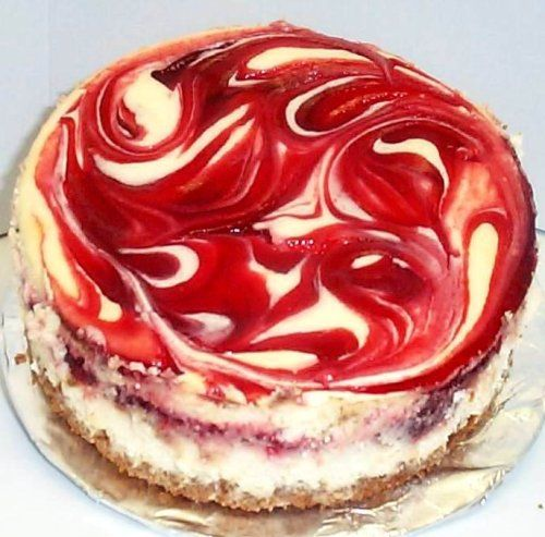 "Scott's Cakes 8"" Strawberry Swirl Cheesecake $39.95"