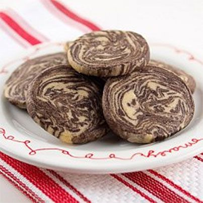 Chocolate Peanut Butter Marble Cookies | Yums Yums | Pinterest