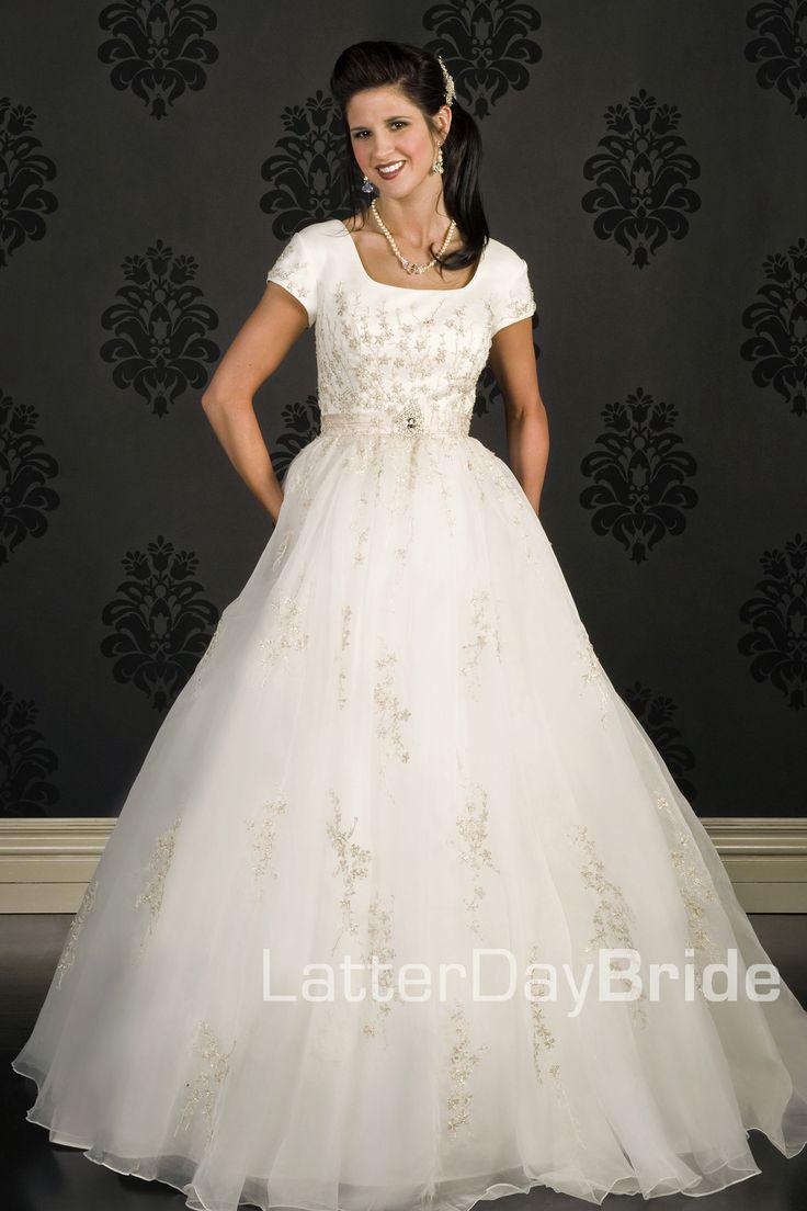 Modest Wedding Dress Weddings Pinterest