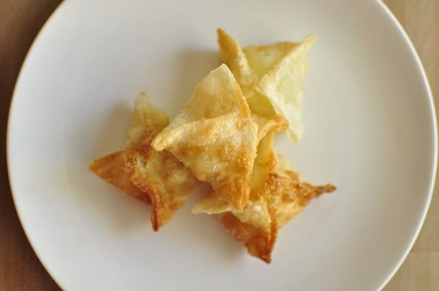 Cream Cheese Won Tons | Oh So Delicioso | Yummy stuff :) | Pinterest