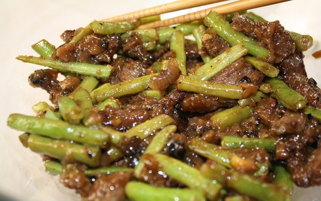 Stir Fried Beef with Green Beans | a yummy tummy | Pinterest