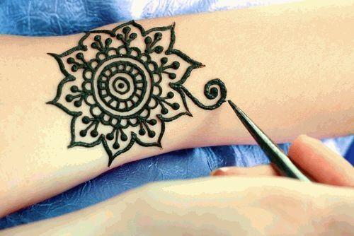 Как сделать татуировку из хна