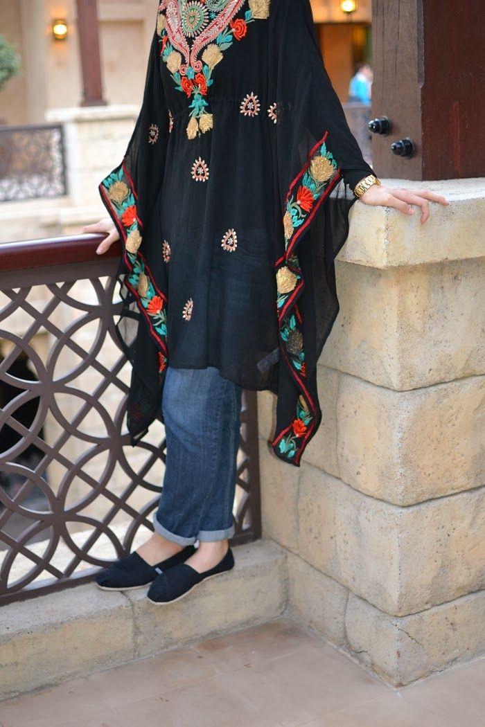 Ethnic Top Hani Hulu Hijabi Fashion Style And Fashion