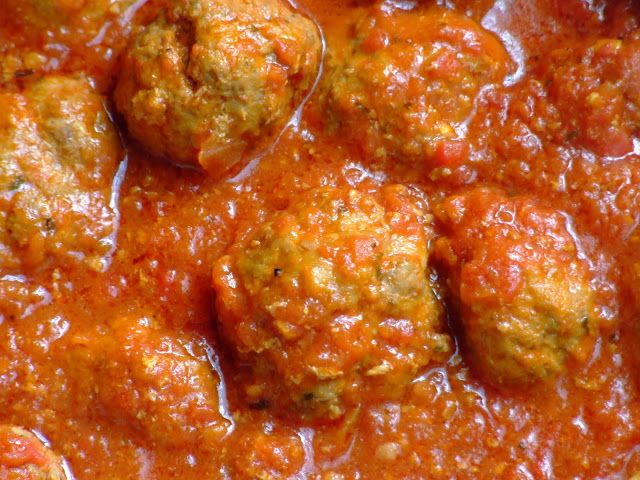 homemade meatballs - of course I'm going to use grams