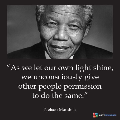 we love this quote from nelson mandela things to