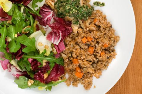 Mushroom and Carrot Bulgur | Sides/Salads | Pinterest
