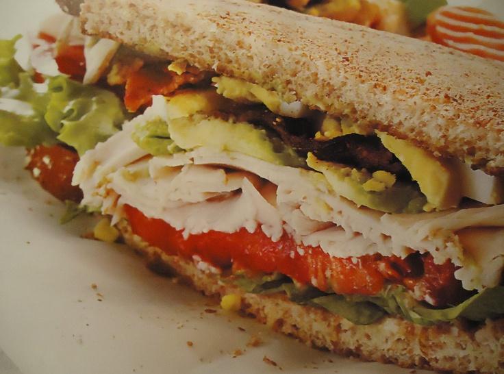 My Delicious Turkey Cobb Sandwich | Things that look yummy =o) | Pint ...