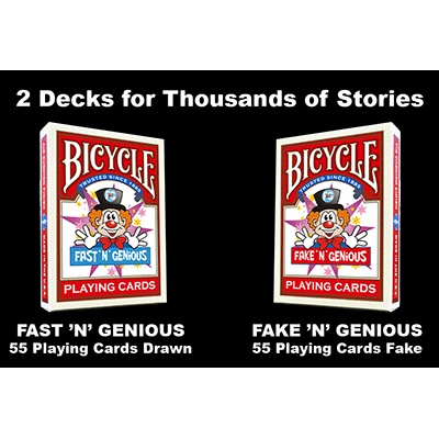 you have two decks of cards