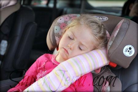 DIY Seat Belt Pillow - tutorial