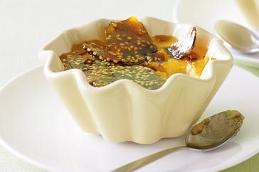 Low-fat creme brulee | Healthy recipes | Pinterest